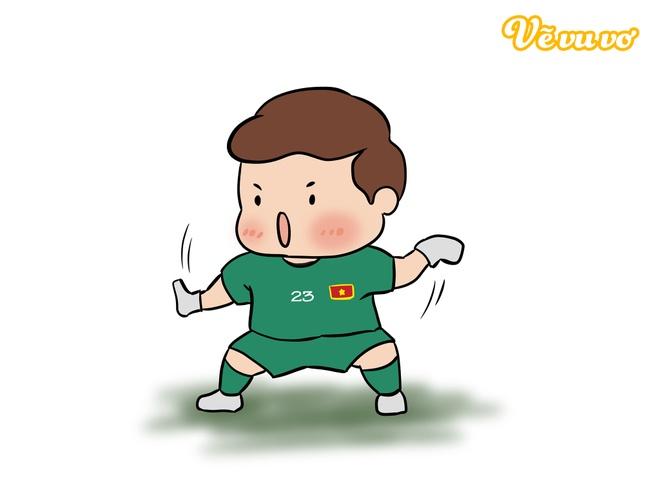 Khoanh khac vui ve, dang yeu cua doi tuyen Viet Nam tai Asian Cup 2019 hinh anh 10