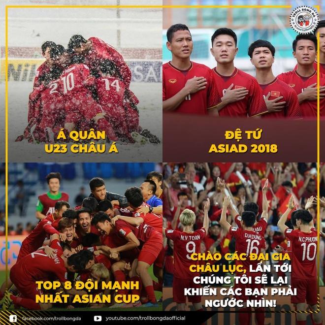 Khoanh khac vui ve, dang yeu cua doi tuyen Viet Nam tai Asian Cup 2019 hinh anh 1