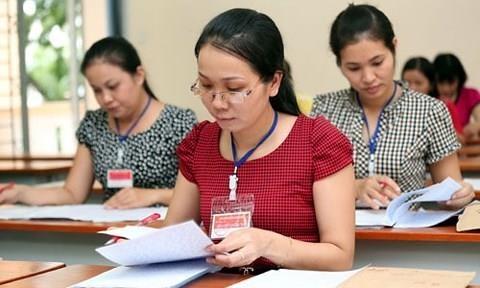 TP.HCM cham xong mon Van, 6 bai thi dat diem 9 hinh anh 1