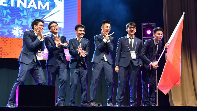 Viet Nam gianh 2 huy chuong vang, 4 huy chuong bac Olympic Toan 2019 hinh anh 1