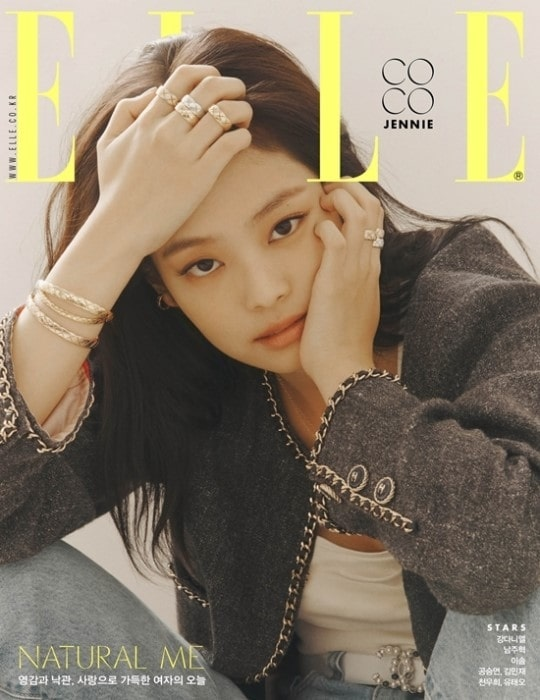 Jennie dien ca cay Chanel, xuat hien goi cam tren bia tap chi hinh anh 2
