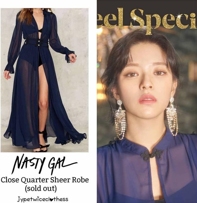 Twice dau tu trang phuc trong MV Feel Special anh 5