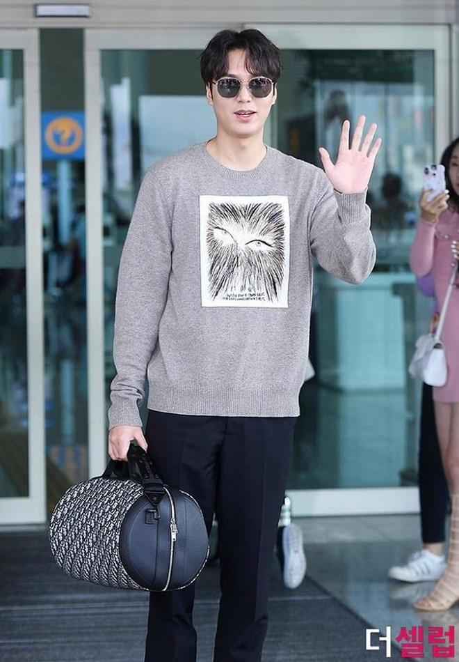 thoi trang san bay cua Lee Min Ho anh 3