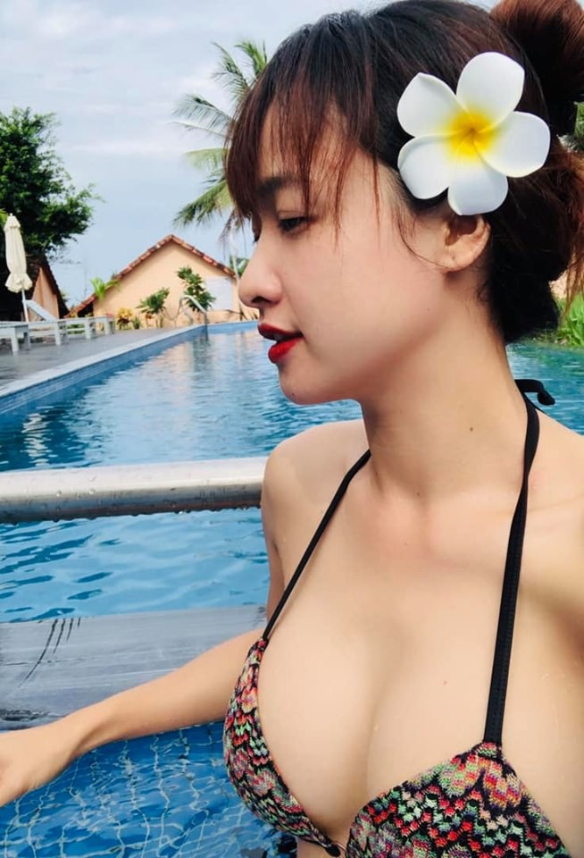 Dan my nhan 'Tieng set trong mua' dien bikini khoe than hinh goi cam hinh anh 5