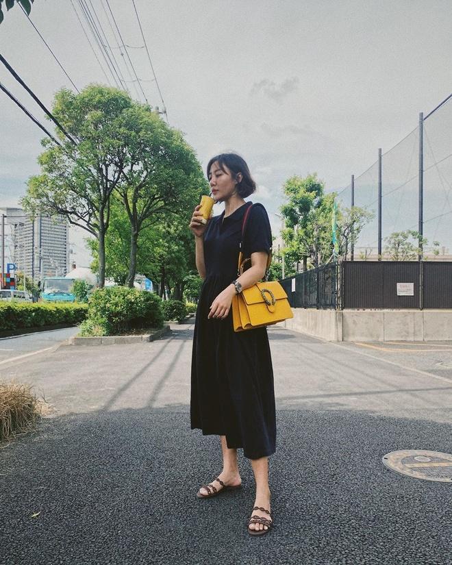 Van Mai Huong doi thuong chuong dien vay cup nguc, do dang rong hinh anh 6