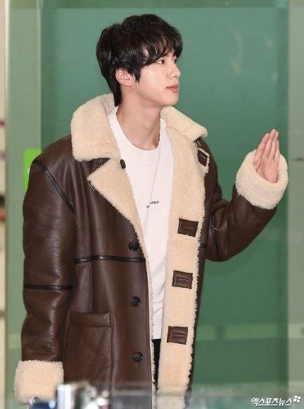 thoi trang san bay cua Jin anh 2