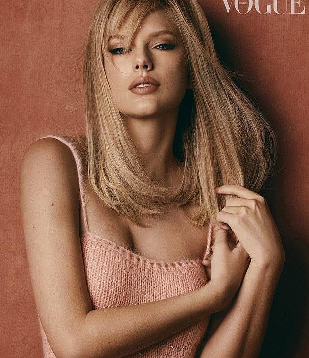 Taylor Swift trong khac la, dien toan hang hieu tren tap chi hinh anh 2