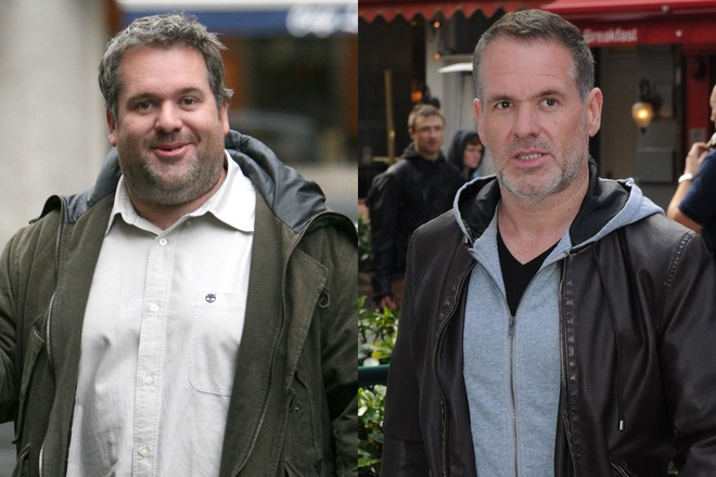 Chris Moyles giam hon 30 kg anh 1