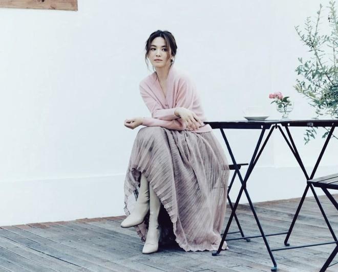 nhan sac Song Hye Kyo trong bo anh moi anh 2