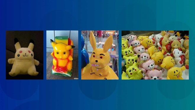 Pikachu phien ban 'xau dau don' tro thanh hien tuong mang TQ hinh anh 2