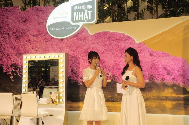 Hoang Yen Chibi dep diu dang trong trang phuc kimono hinh anh 5