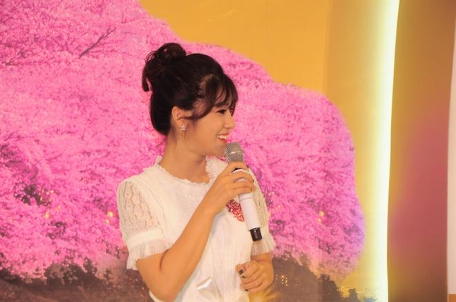 Hoang Yen Chibi dep diu dang trong trang phuc kimono hinh anh 6