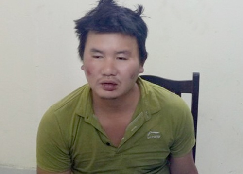 Loi khai cua nghi pham dam trung co truong cong an phuong hinh anh 1