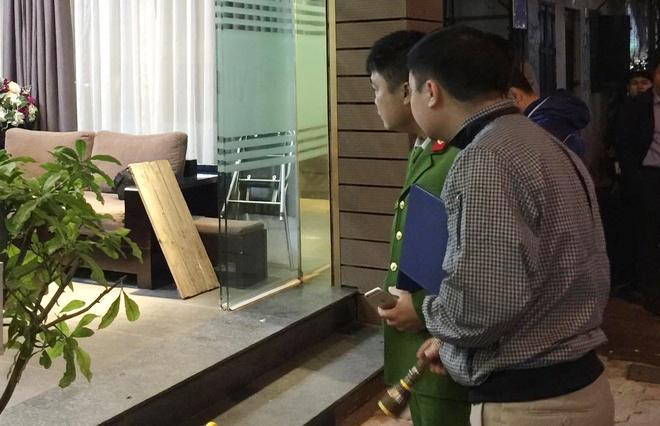 Dieu tra nghi an no sung tren pho Phan Boi Chau hinh anh 1