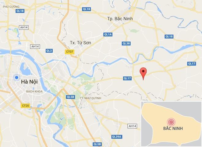 Luc Van Tien bi dam o Bac Ninh anh 2