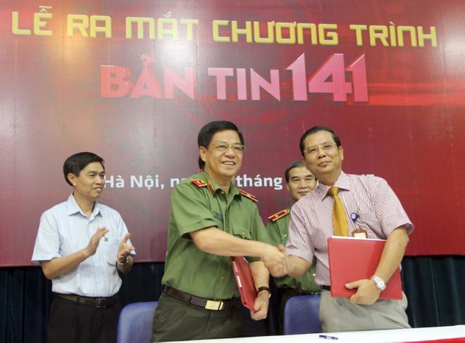 Cong an Ha Noi phoi hop ra mat 'Ban tin 141' tren truyen hinh hinh anh 1