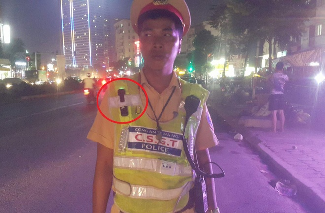 Canh sat 141 Ha Noi duoc trang bi camera dang but hinh anh 2