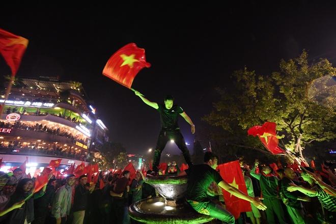 Bo Cong an chi dao dam bao an toan cho nguoi dan co vu U23 Viet Nam hinh anh 1