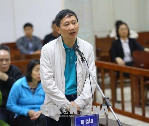 Trinh Xuan Thanh: 'Bi cao khong thuoc loi ich nhom cua anh Thang' hinh anh 2