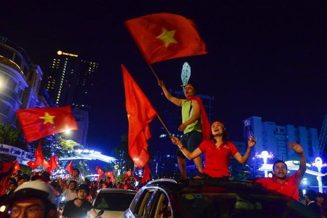 2.000 canh sat dam bao an ninh sau tran chung ket cua U23 Viet Nam hinh anh