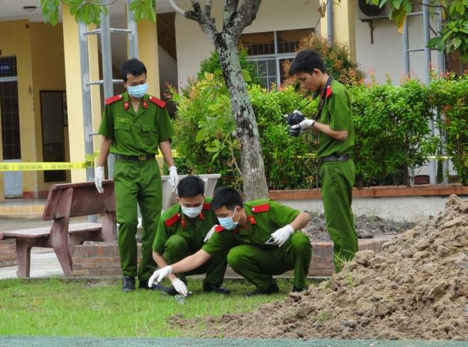 Truy bat nghi can doat mang nguoi trong khu do thi o Ha Noi hinh anh