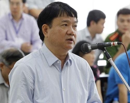 Dinh La Thang xin thay doi toi danh khi noi loi sau cung hinh anh 1