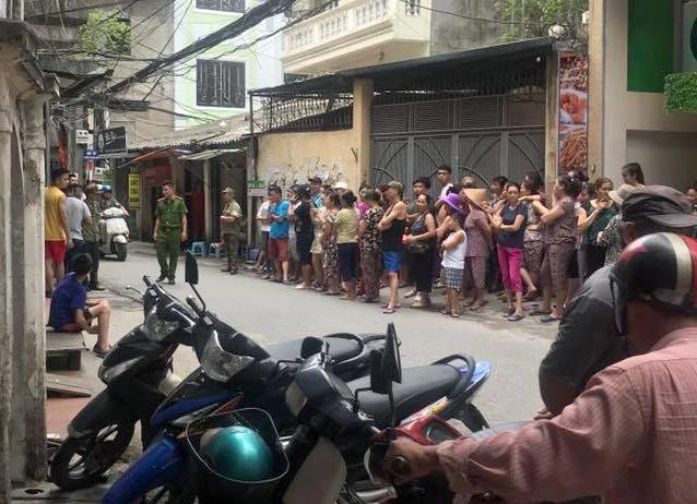 Thai phu nghi bi nhan tinh sat hai trong nha tro hinh anh