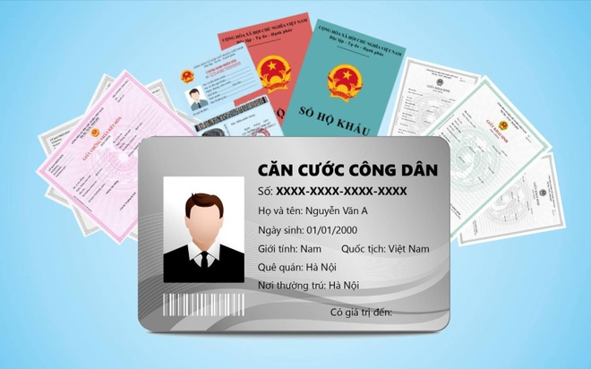 The can cuoc, so dinh danh giup thay the bao nhieu loai giay to? hinh anh