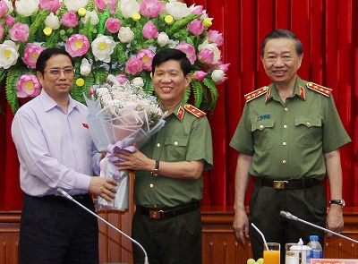 Tuong Nguyen Van Son tham gia Thuong vu Dang uy Cong an Trung uong hinh anh