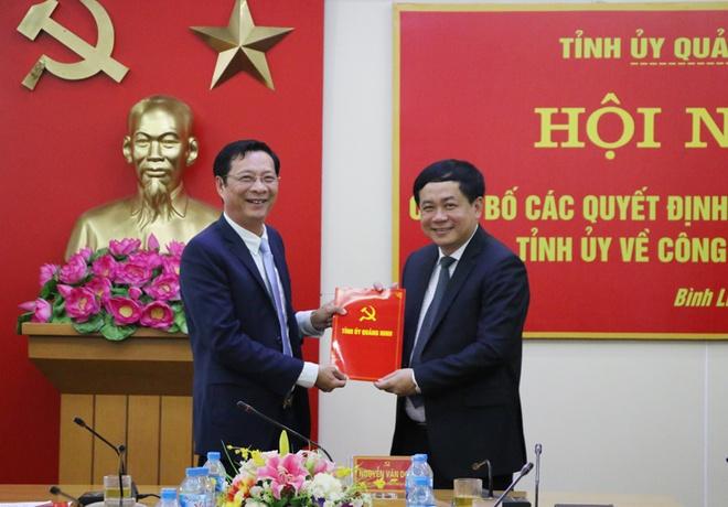 Ong Mai Vu Tuan lam Giam doc Trung tam truyen thong Quang Ninh hinh anh 1