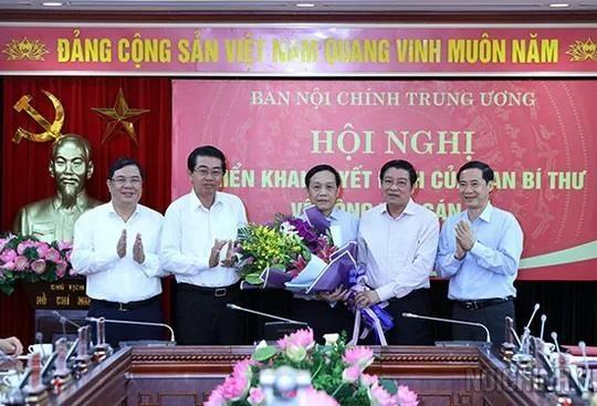 Ông Nguyễn Thanh Hải được bổ nhiệm Phó ban Nội chính Trung ương