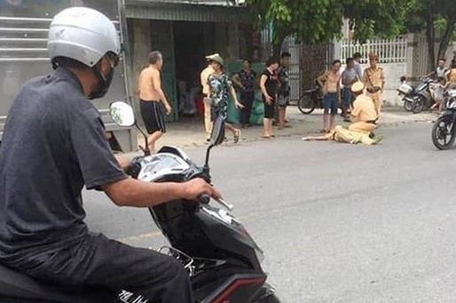 Thanh nien tong CSGT Hai Phong anh 1