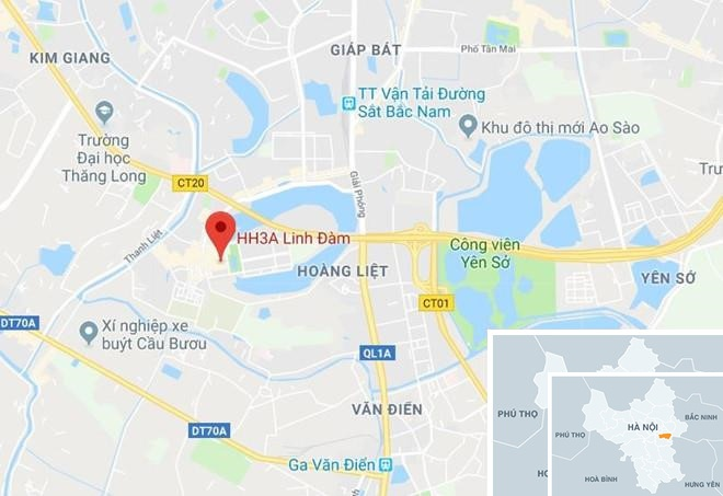 Bat 2 nghi pham vu no buu kien o khu do thi Linh Dam hinh anh 3