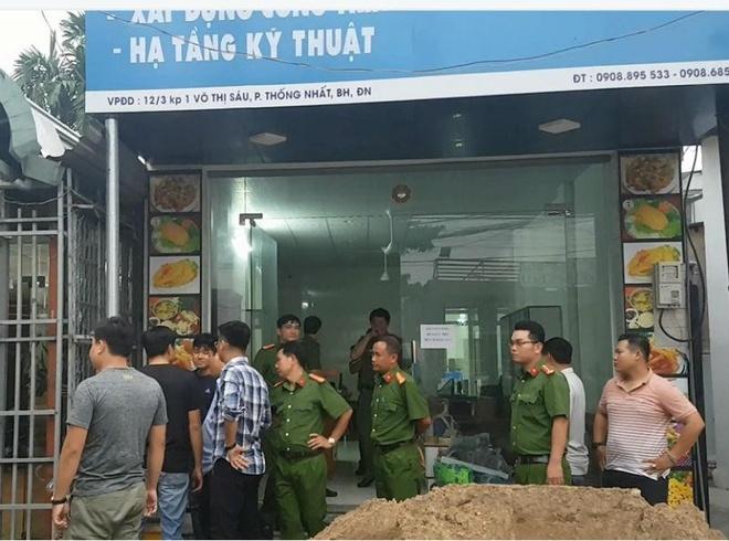 Giang ho vay oto cho cong an Dong Nai anh 1