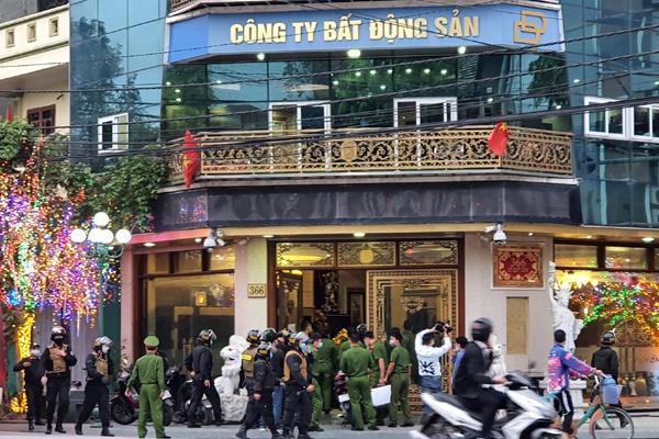 Bat nu doanh nhan o Thai Binh anh 1