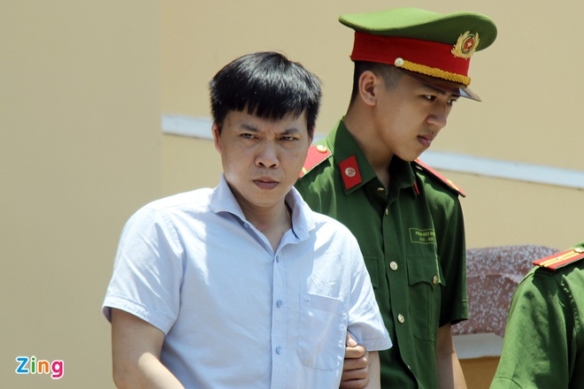 Bị cáo Đỗ Mạnh Tuấn là người bị đề nghị mức án cao nhất. Ảnh:Hoàng Lam.