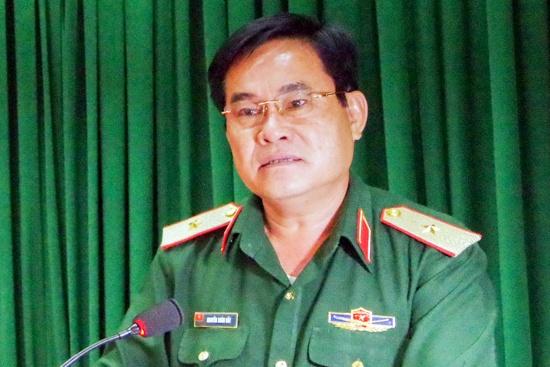 Thiếu Tướng Nguyễn Xuan Dắt Giữ Chức Tư Lệnh Quan Khu 9 Nhan Sự Mới