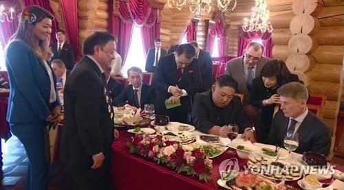 Trieu Tien phat song canh bat ngo trong thuong dinh Kim - Putin hinh anh 1