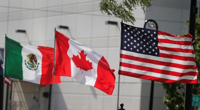 TT Trump bat ngo do bo thue quan cho thep va nhom Canada, Mexico hinh anh 1