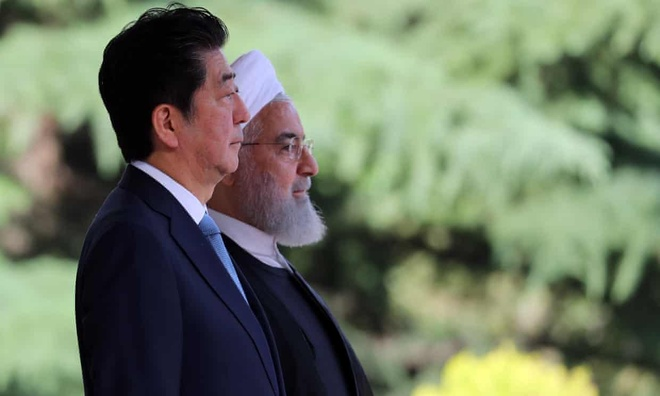 Ong Abe vua den Tehran hoa giai, My - Iran da leo thang cang thang hinh anh 2