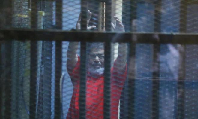 Cuu Tong thong Ai Cap Mohamed Morsi dot tu anh 2