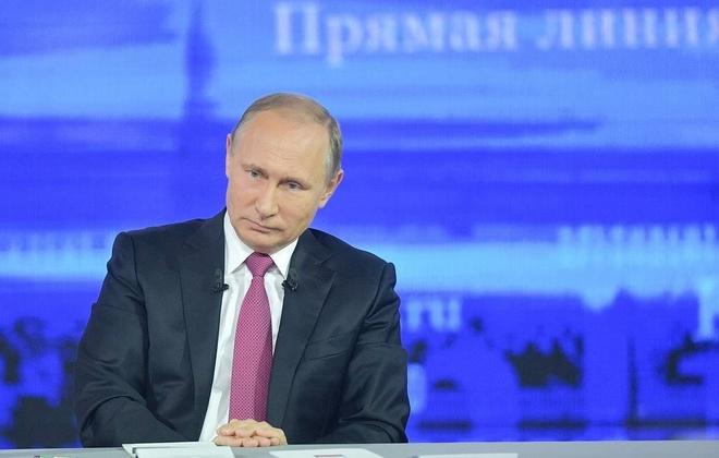 TT Putin tra loi truc tuyen nguoi dan anh 1