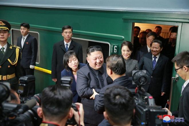 Trieu Tien ruc rich chuan bi cho ong Kim Jong Un tham Trung Quoc hinh anh 1