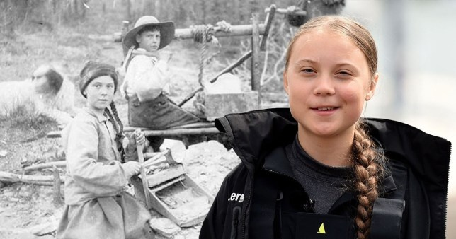 Greta Thunberg bi nghi du hanh thoi gian anh 1