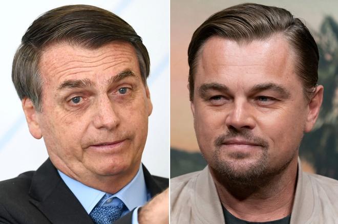 Leonardo DiCaprio tra loi tong thong Brazil anh 1
