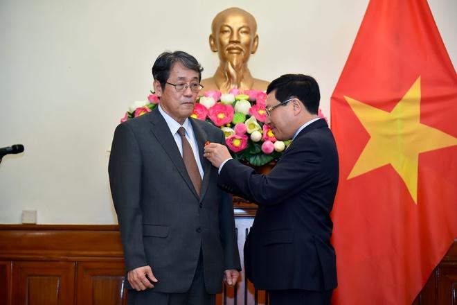 Trao tang Huan chuong Huu nghi cho Dai su Nhat hinh anh 3 TTA_9279_1_1.jpg