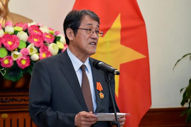 Trao tang Huan chuong Huu nghi cho Dai su Nhat hinh anh 6 TTA_9318_1_1.jpg