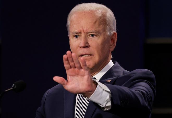 Trump - Biden buoc vao buoi 'so gang' dau tien anh 5