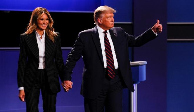 Trump - Biden buoc vao buoi 'so gang' dau tien anh 36
