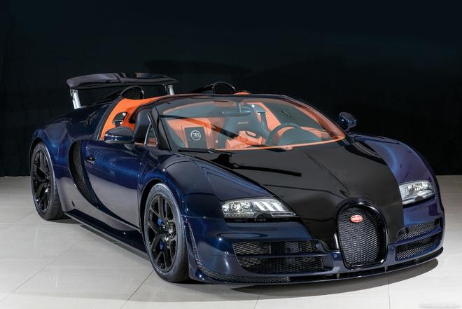 Bugatti Veyron Vitesse doc nhat tai Nhat Ban duoc rao ban hinh anh